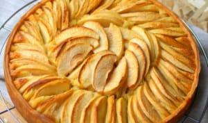 Tarte amandine aux pommes facile