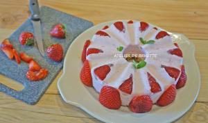 Nuage pistache et fraise