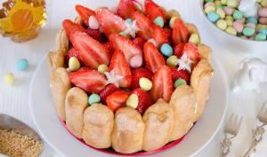 Charlotte aux fraises et à l'érable