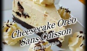 Cheesecake Oréo sans cuisson