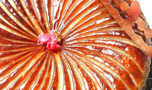 Galette des rois frangipane praline rose