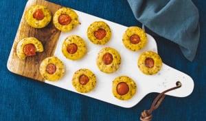 Bouchées Apéros Tomate cerise et Moutarde à l'ancienne