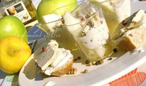 Verrines à la crème d'artichaut, au foie gras et aux pommes granny smith