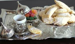 Chaussons au petit-suisse et compote de poires