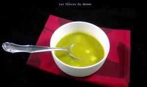 La soupe poireaux pommes de terre