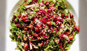Salade composée alcaline : fraîcheur et vitalité