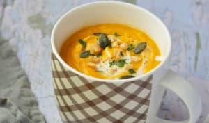 Velouté de carottes au beurre de cacahuète et miso