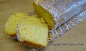 Cake coco, citron vert et yuzu