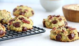 Cookies façon zucchini bread aux pépites de chocolat