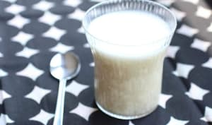 Crème-dessert vietnamienne aux haricots blancs