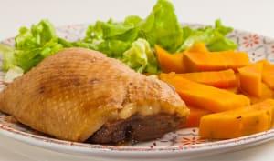 Confit de canard aux patates douces