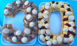 Number cake aux deux parfums