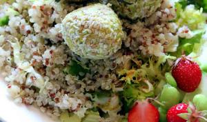 Salade de quinoa et falafels