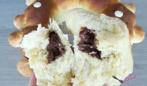 Brioche butchy ourson coeur chocolat au companion ou non