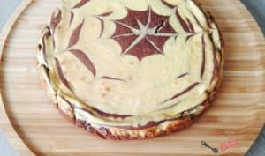Cheesecake aux 2 chocolats au companion ou non