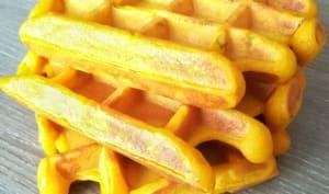 Gaufres à la carotte au companion ou non