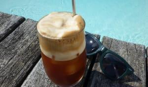 Café frappé comme en Grèce