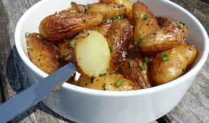 Poêlée de pommes de terre primeur