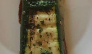 Courgette panini