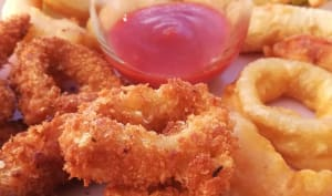 Beignets de crevettes et de calamars