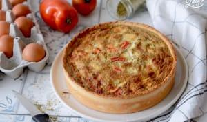 Quiche tomates mozzarella