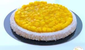 Tarte Ananas Coco et Gingembre