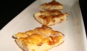 Quiche aux lardons sans pâte