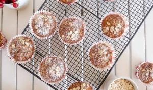 "Muffins ""banana bread"" à l'avoine"