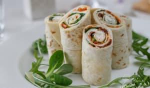 Wrap aux légumes
