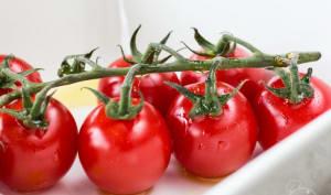 Tomates cerises rôties au four