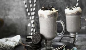 Milkshake aux biscuits Oreo