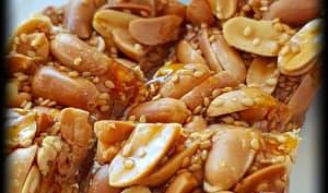 Nougat dur chinois aux cacahuètes