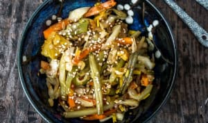 Pickles de légumes malais