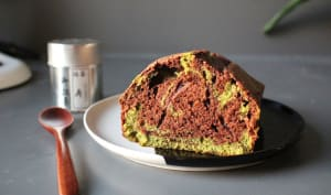 Cake chocolat matcha