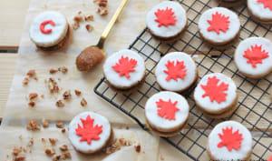 Biscuits canadiens Erable, pomme et pécan