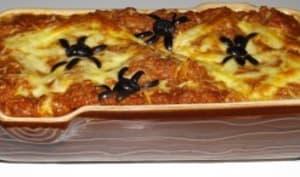 Lasagnes d'araignées
