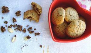 Cookies au muesli bio chocolat et à la farine de châtaigne