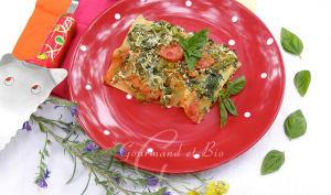 Lasagnes ricotta / épinards