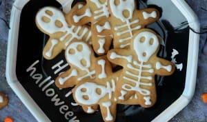 Biscuits sablés squelettes