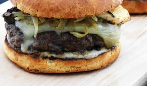 Burgers steakhouse champignons et Saint Nectaire