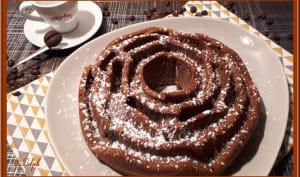 Gâteau aux noix de pécan et café