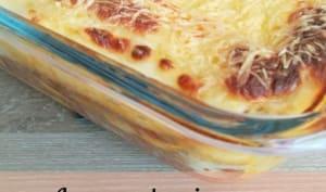 Lasagne de poireaux bolognaise