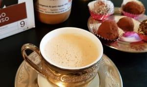 Café gras au beurre de cacahuètes