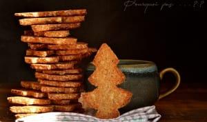 Biscuits avoine, épices, bergamote confite