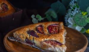 la tarte aux figues à la crème d'amandes