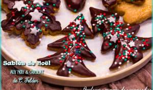 Sablés de Noël aux noix