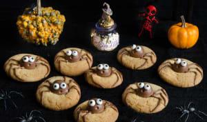 Cookies araignée halloween