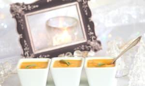 Soupe butternut rôti à la sauge