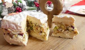 Camembert farci aux fruits secs