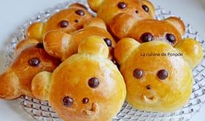 Brioche nounours aux épices de pain d'épices